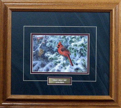 Scott Zoellick Berry Berry Red - Framed