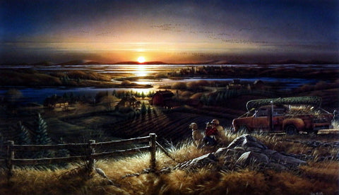 Terry Redlin Best Friends