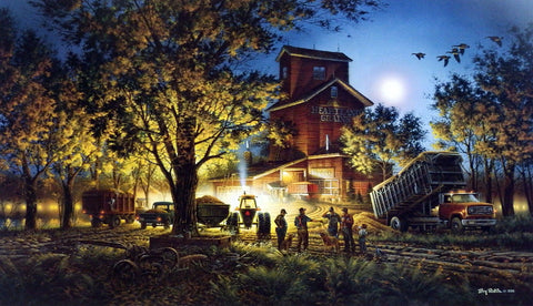 Terry Redlin Bountiful Harvest