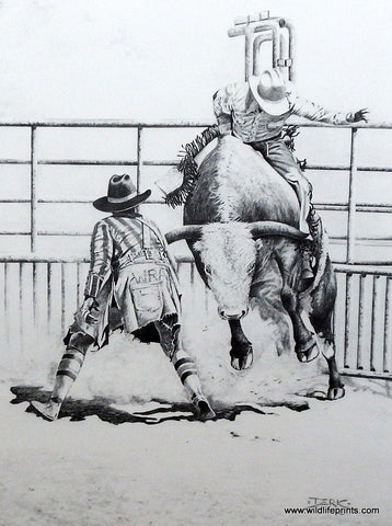 Derk Hansen Bull Riding