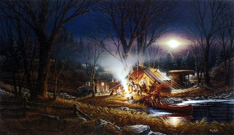 Terry Redlin Campfire Tales