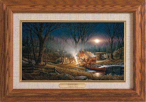 Terry Redlin Campfire Tales- Master Stroke-FREE SHIPPING