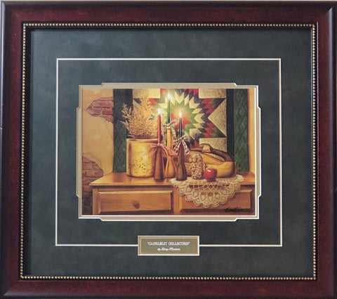 Doug Knutson Candlelit Collection Holiday Art Print-Framed