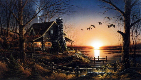 Terry Redlin Comforts of Home
