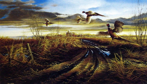 Terry Redlin Country Road