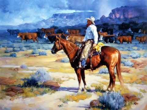 Jack Sorenson Cow Country