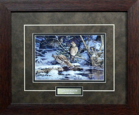 Scott Zoellick Creekside Solitude- Framed