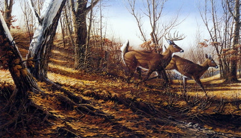 Terry Redlin Autumn Run