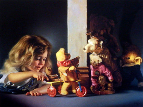 Bob Byerley Children's Teddy Bear Print INTRODUCTIONS ALL AROUND