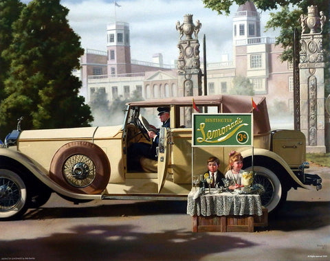 Bob Byerley Children's Print Lemonade Stand