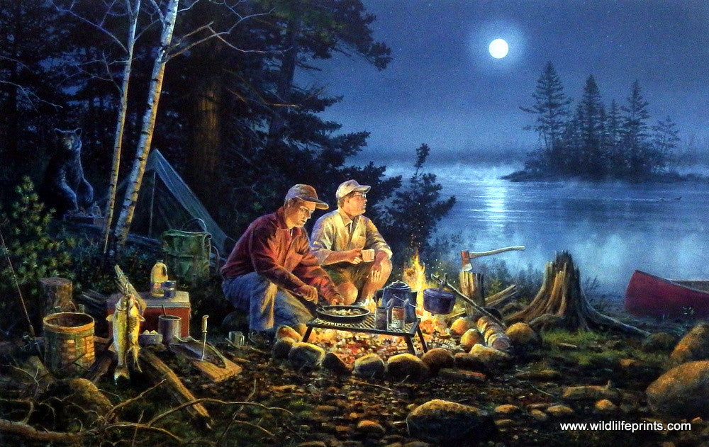 """Scott Zoellick /""""Guess who/'s Coming to Dinner/""""  Art Print  SN with Certificate"""