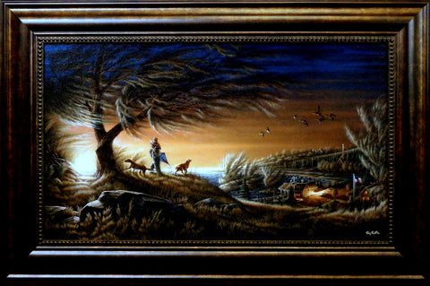 Terry Redlin Lifetime Friends -Framed
