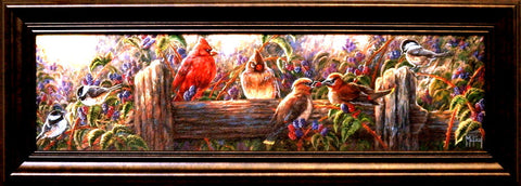 John McFaul Berry Sweet - Framed