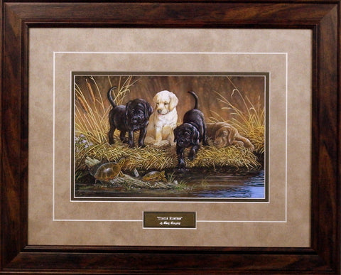 Terry Doughty Turtle Hunters- Framed