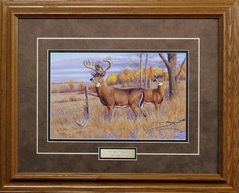 Cynthie Fisher Framed Deer Picture THE BRYANT BUCK