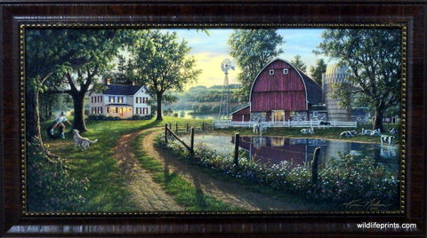 Kim Norlien The Road Home- Framed