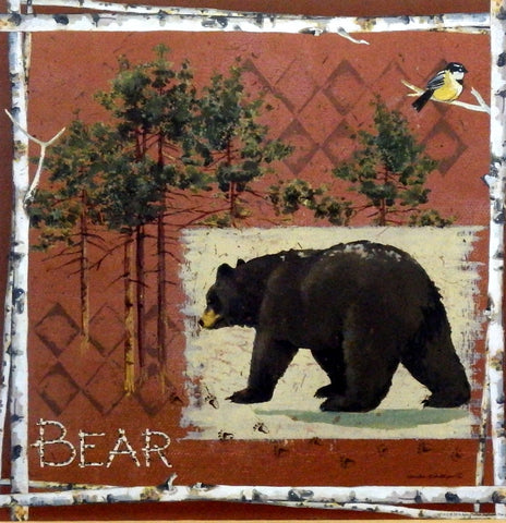 Anita Phillips Black Bear picture art print