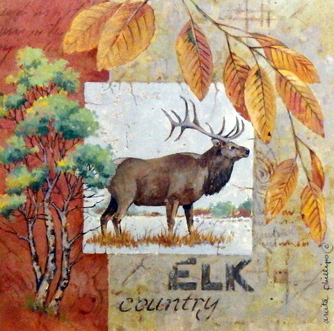 Anita Phillips ELK COUNTRY Northwoods Wall Decor