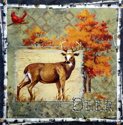 Anita Phillips Deer on Green