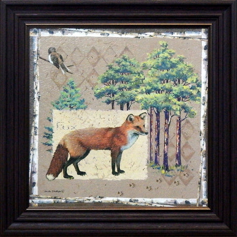 Anita Phillips Red Fox Framed Art Print