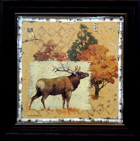 Anita Phillips Framed Elk Art Print