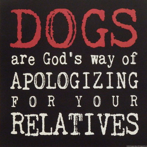 Stephanie Marrott Dogs Apologizing for Relatives