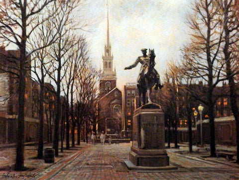 Tony Eubanks Old North Church