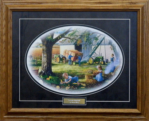 Charles Freitag Autumn Memories-Framed