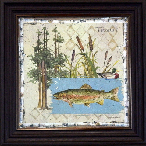 Anita Phillips Trout-Framed