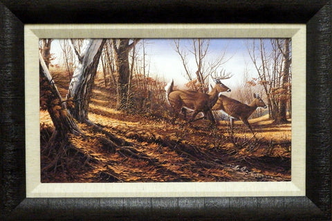 "Terry Redlin ""Autumn Run"" Framed 23"" x 15.5"""