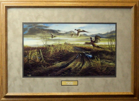 Terry Redlin Country Road-Framed