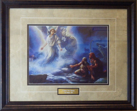 Tom Dubois I Bring you Tidings of Great Joy-Framed