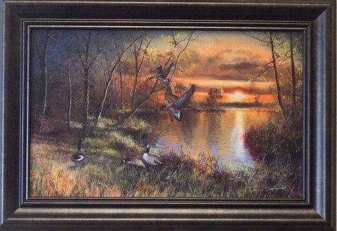 "Jim Hansel ""Evening Refuge"" Decorator framed Print"