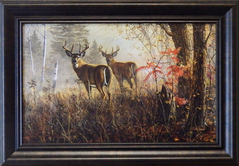 "Jim Hansel ""Double Vision"" Decorator framed Print"
