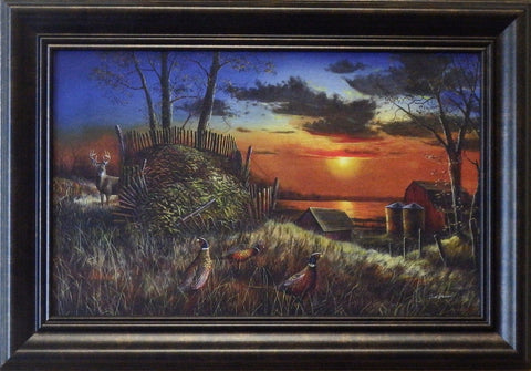 "Jim Hansel ""Sharing the Bounty""Decorator-Framed"