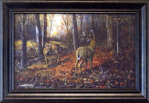 "Jim Hansel ""Signs of Autumn"" Decorator-Framed"