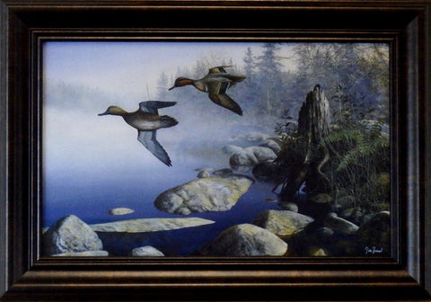 "Jim Hansel ""Waters Edge""Decorator-Framed"