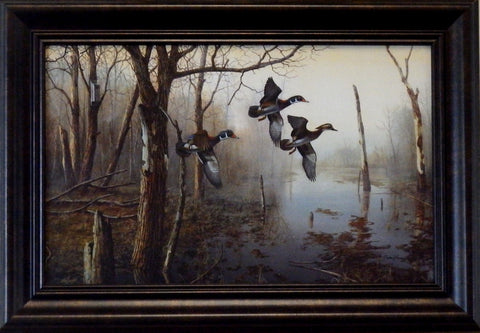 "Jim Hansel ""Backwater""Decorator-Framed"