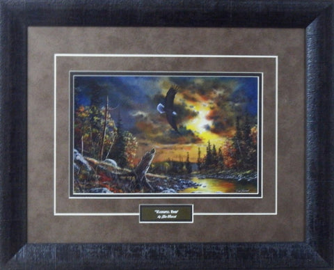"Jim Hansel ""Watchful eyes""-Framed"