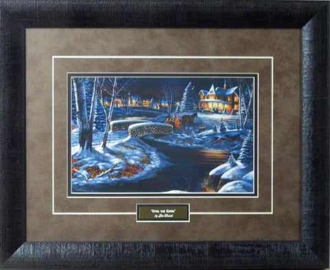 "Jim Hansel ""Over the River""-Framed"