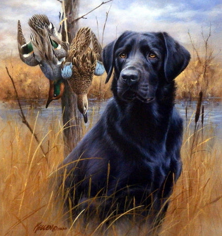 James Killen Faithful Friend Black Lab