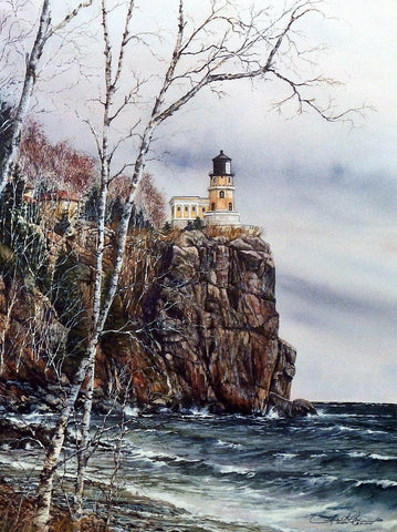 Susan Amidon Split Rock Lighthouse 15 x 20