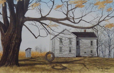 Billy Jacobs The Old Farmhouse Art Print