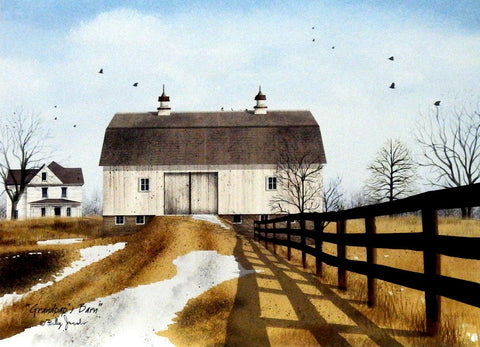 Billy Jacobs Grandpa's Barn  16 x 12