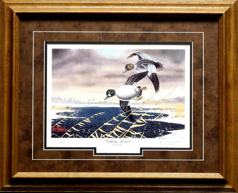Les Kouba Goldeneye Invasion Print-Framed