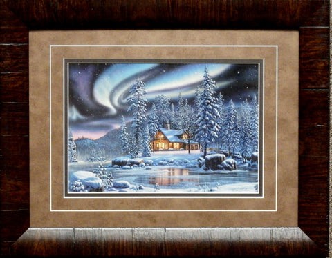 Kim Norlien Aurora Bliss Art Print-Framed