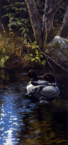 Persis Clayton Weirs Dancing Water Loons