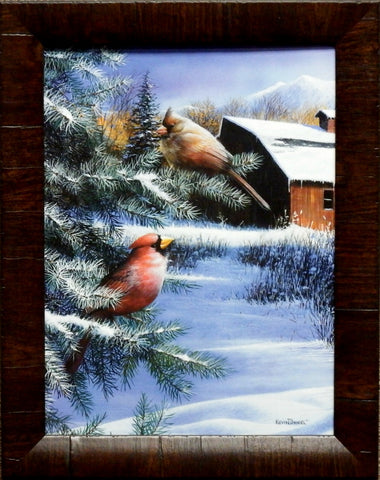Kevin Daniel A Winter's Day-Framed