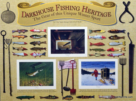 Les Kouba Darkhouse Fishing Heritage