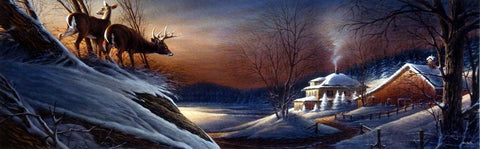 Terry Redlin Deer Crossing